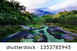 kali kuning  merapi mountain ...   Shutterstock . vector #1353785945