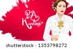 kartini day  r a kartini the... | Shutterstock .eps vector #1353798272