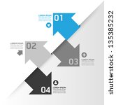 modern design template   can be ... | Shutterstock .eps vector #135385232