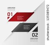 modern design template   can be ... | Shutterstock .eps vector #135385472