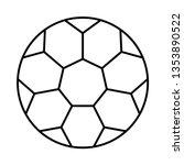 football  soccer   sport   | Shutterstock .eps vector #1353890522