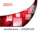 abstract business background  ... | Shutterstock .eps vector #135389228