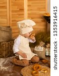 photo project little baker. a... | Shutterstock . vector #1353916415