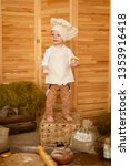photo project little baker. a... | Shutterstock . vector #1353916418