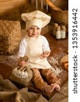 photo project little baker. a... | Shutterstock . vector #1353916442
