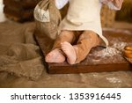 photo project little baker. a... | Shutterstock . vector #1353916445