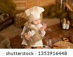 photo project little baker. a... | Shutterstock . vector #1353916448