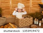 photo project little baker.... | Shutterstock . vector #1353919472