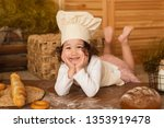 photo project little baker.... | Shutterstock . vector #1353919478