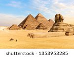 The Pyramids Of Giza And The...