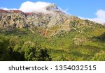 scenic hill country on corsica... | Shutterstock . vector #1354032515