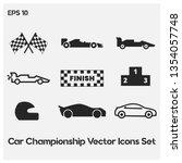 formula1 championship vector...   Shutterstock .eps vector #1354057748