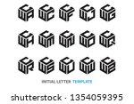 a collection of fifteen...   Shutterstock .eps vector #1354059395
