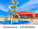 doha  qatar   february 21  2019 ... | Shutterstock . vector #1354093838