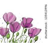 Floral Frame Design With...