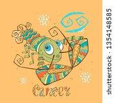 children's horoscope icon....   Shutterstock .eps vector #1354148585