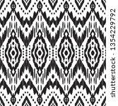 black and white seamless... | Shutterstock .eps vector #1354229792
