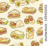 background,bread,bread roll,bun,burger,cafe,cheese,club sandwich,collection,cover,decoration,deli,delicatessen,design,doodle
