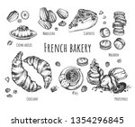 vector illustration of french...   Shutterstock .eps vector #1354296845