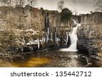 Постер, плакат: High Force waterfall
