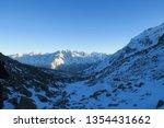 syltran moraine night view.... | Shutterstock . vector #1354431662