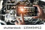augmented reality concept. ar.... | Shutterstock . vector #1354454912