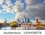 frankfurt am main  germany  ... | Shutterstock . vector #1354458578