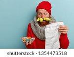medical treatment concept.... | Shutterstock . vector #1354473518