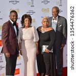 Small photo of LOS ANGELES, CA. March 30, 2019: Maxine Walters, Sid Williams & Family at the 50th NAACP Image Awards. Picture: Paul Smith/Featureflash