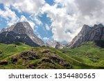 hakkari  turkey  mount cilo ... | Shutterstock . vector #1354480565