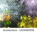 imagination lush fractal... | Shutterstock . vector #1354483928