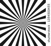 white and black beam style... | Shutterstock .eps vector #1354503455