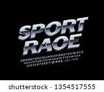 Vector Metallic Logo Sport Race ...