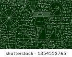mathematical scientific vector... | Shutterstock .eps vector #1354553765