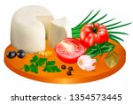 illustration of mozzarella...   Shutterstock .eps vector #1354573445