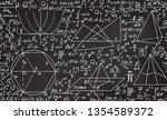 math educational vector... | Shutterstock .eps vector #1354589372