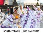 panama city  panama   march 04  ...   Shutterstock . vector #1354636085