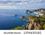spain  catalonia  costa brava... | Shutterstock . vector #1354650182