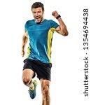 one caucasian handsome mature... | Shutterstock . vector #1354694438