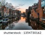 amsterdam  amsterdam  ... | Shutterstock . vector #1354730162