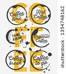 coffee to go illustration for... | Shutterstock .eps vector #1354748162