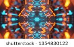 abstract technology background  ... | Shutterstock . vector #1354830122