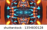 abstract technology background  ... | Shutterstock . vector #1354830128