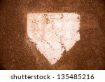 Baseball Field  Red Dirt