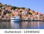 Colorful Houses Lining The...