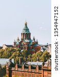 uspenski cathedral view in... | Shutterstock . vector #1354947152