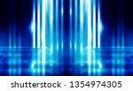 background of empty dark room... | Shutterstock . vector #1354974305