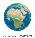 planet earth africa view... | Shutterstock . vector #1354979672