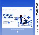 medical service  modern flat...