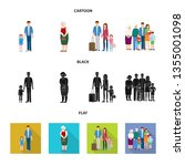 isolated object of character... | Shutterstock .eps vector #1355001098